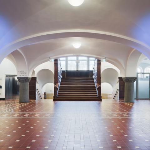 Bürgerhaus Velbert-Langenberg Leitsystem Orientierungssystem