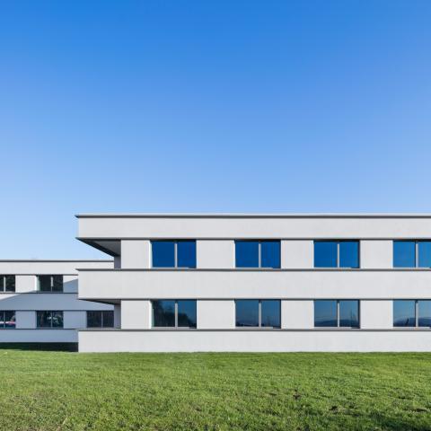 Übergangswohnheime Köln Rückfassade