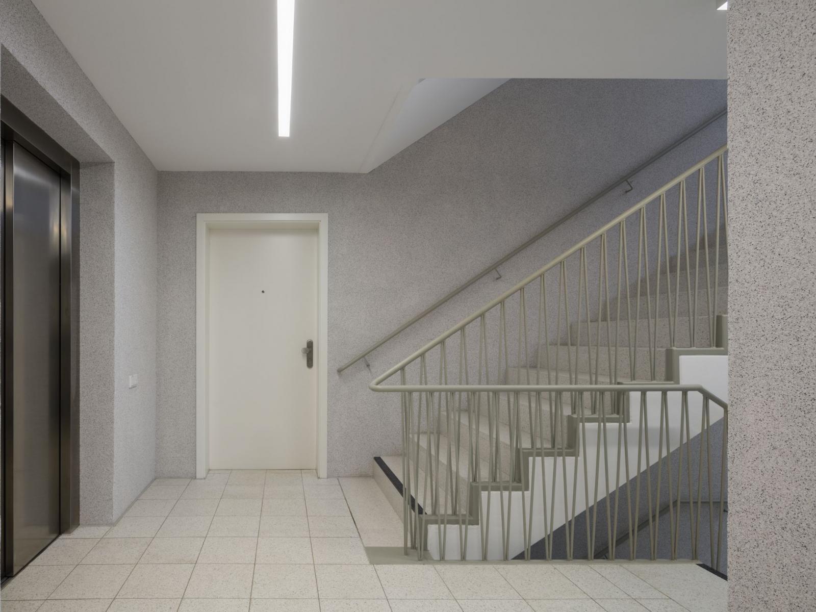 Rollstuhlgerechtes Wohnen Feuerwehrhaus Innenraum