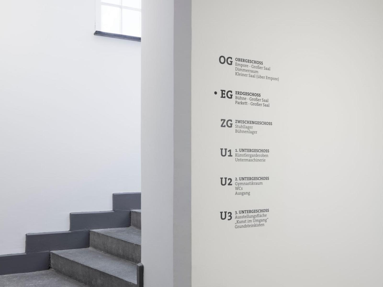 Bürgerhaus Velbert-Langenberg Leitsystem