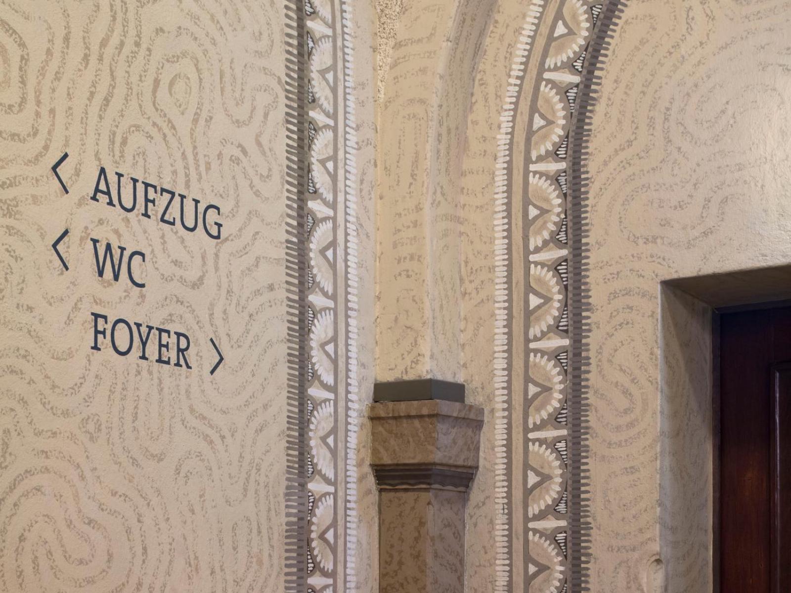 Bürgerhaus Velbert-Langenberg Orientierungssystem