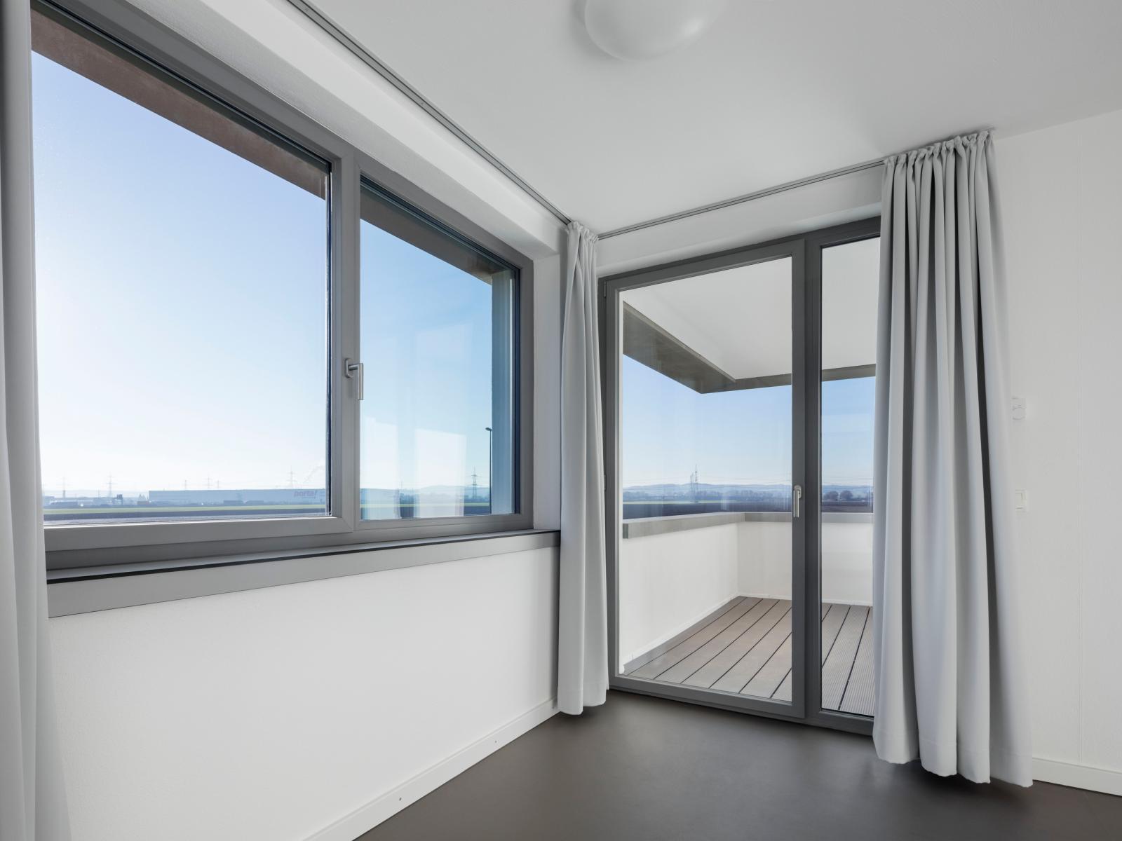 Übergangswohnheime Köln Balkon