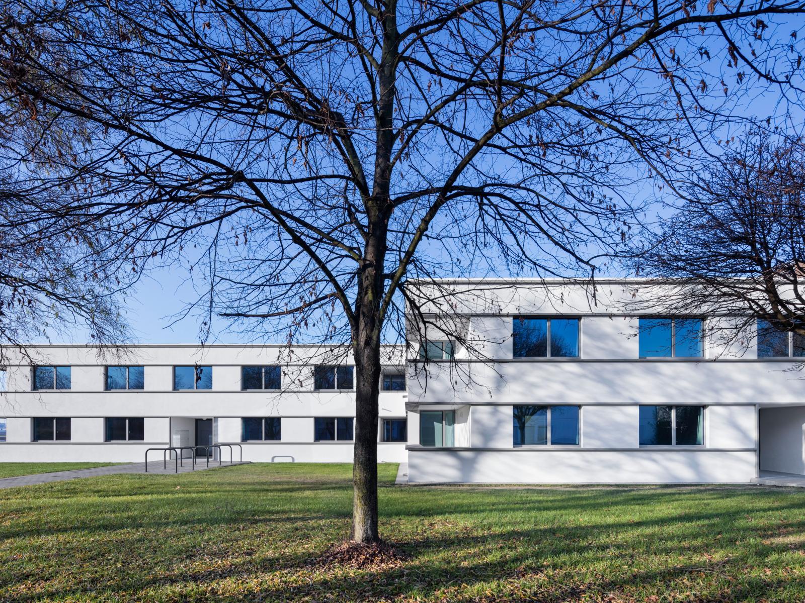 Übergangswohnheime Köln Fassade