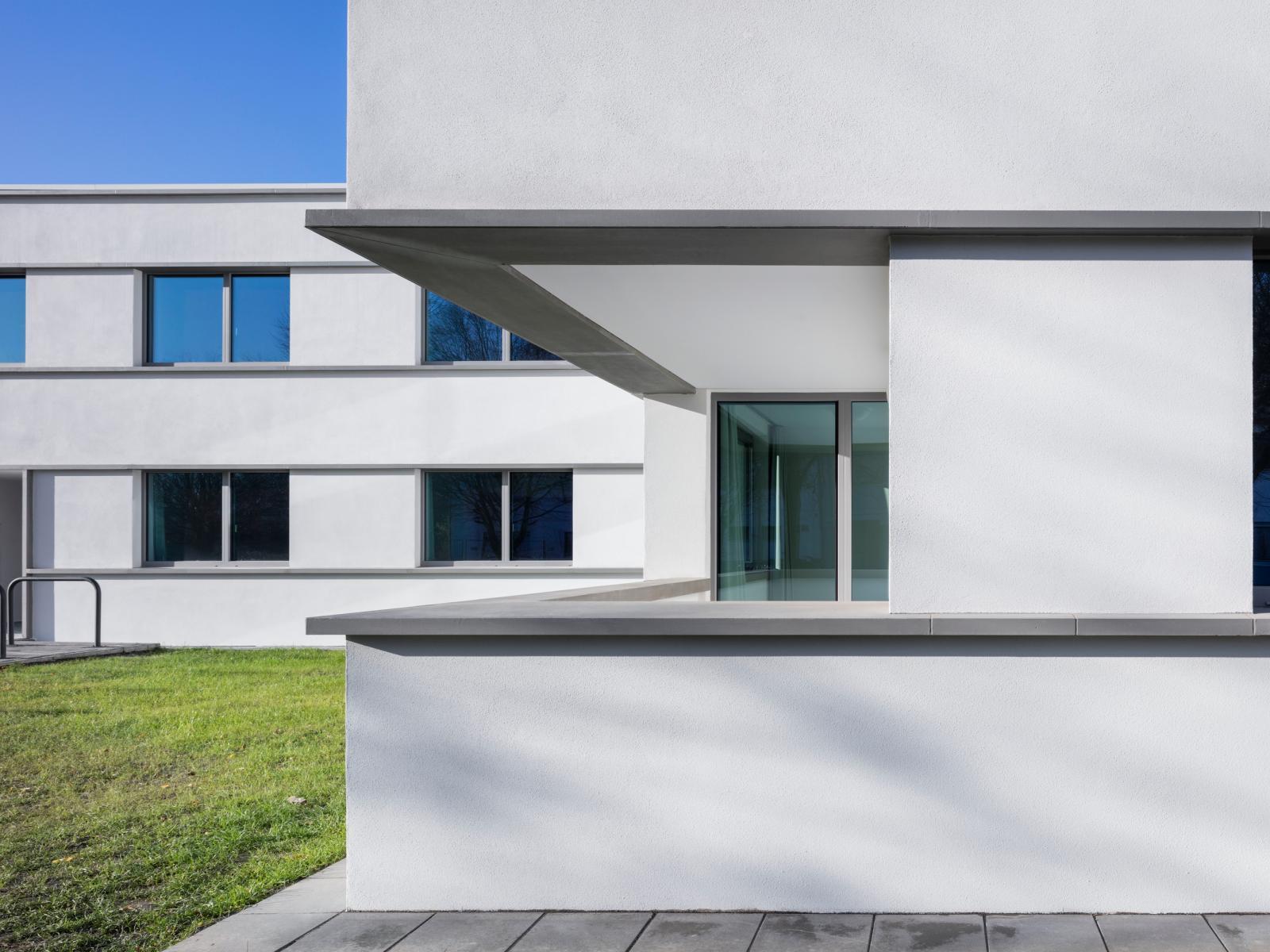 Übergangswohnheime Köln Fassadendetail